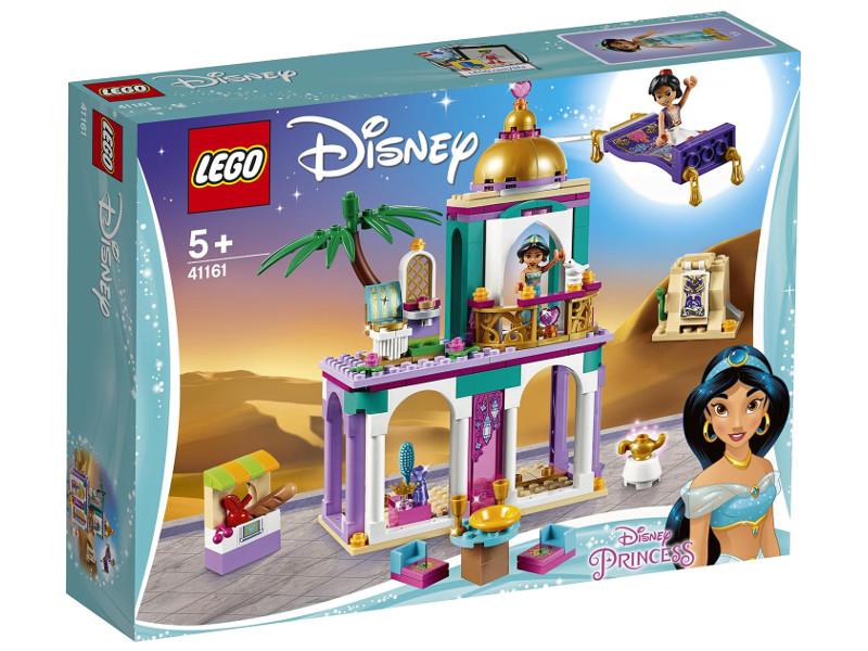 Конструктор Lego Disney Princess Приключения Аладдина и Жасмин во дворце 193 дет. 41161 конструктор lego башенка жасмин 41158 disney princess