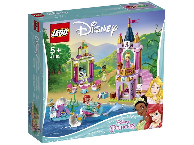 Конструктор Lego Disney Princess Королевский праздник Ариэль, Авроры и Тианы 282 дет. 41162