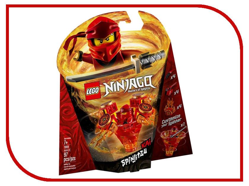Конструктор Lego Ninjago Кай мастер Кружитцу 97дет. 70659 цена