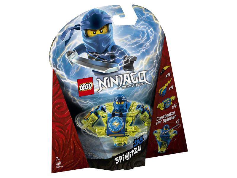 Конструктор Lego Ninjago Джей мастер Кружитцу 97 дет. 70660 конструктор lego minecraft skeleton bigfig with magma cube 142 дет 21150