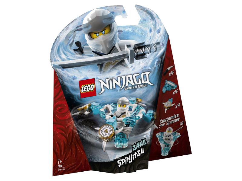 Конструктор Lego Ninjago Зейн мастер Кружитцу 109 дет. 70661