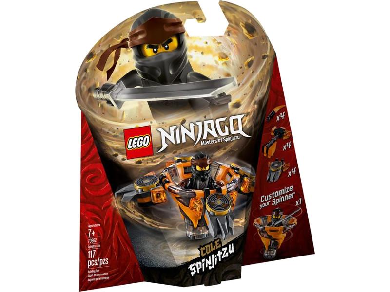цена на Конструктор Lego Ninjago Коул мастер Кружитцу 117 дет. 70662