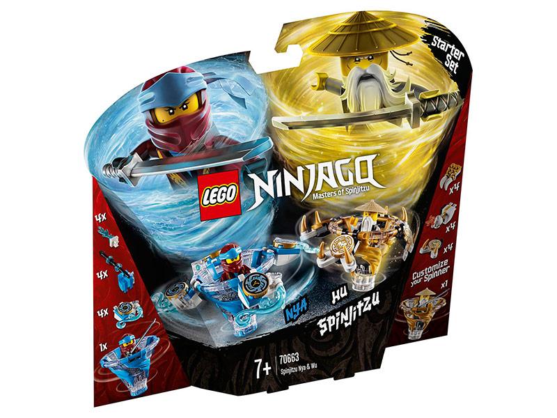 Конструктор Lego Ninjago Ния и Ву мастера Кружитцу 227 дет. 70663 lego ninjago битва гармадона и мастера ву 70608