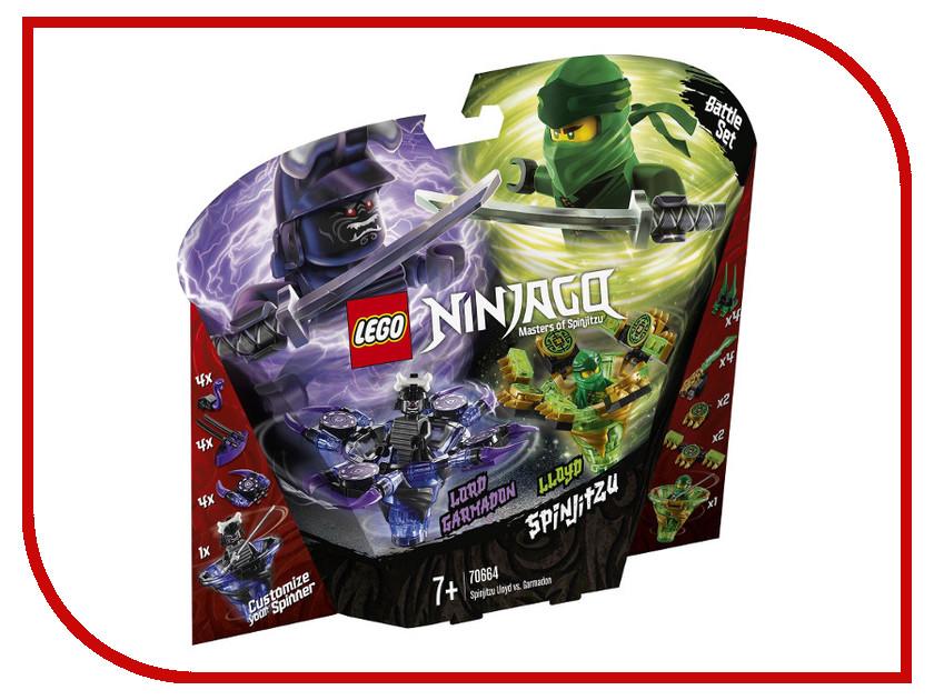Конструктор Lego Ninjago Ллойд мастер Кружитцу против Гармадона 208 дет. 70664 конструктор lepin ninjago акула гармадона 929 дет 06067
