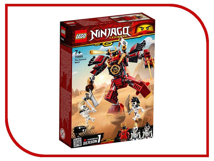 Конструктор Lego Ninjago Робот-самурай 154 дет. 70665