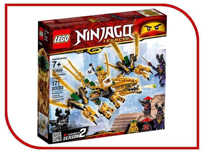 Конструктор Lego Ninjago Золотой Дракон 171 дет. 70666 конструктор lepin ninjago акула гармадона 929 дет 06067