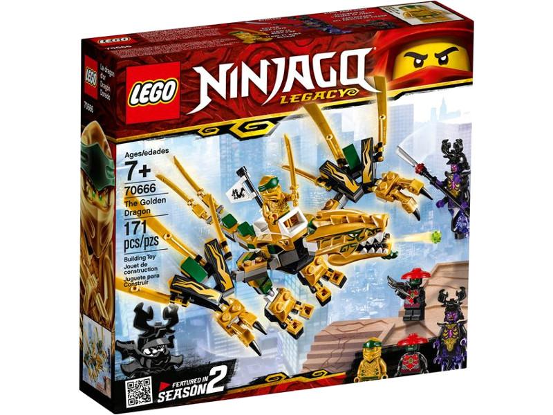 Конструктор Lego Ninjago Золотой Дракон 171 дет. 70666