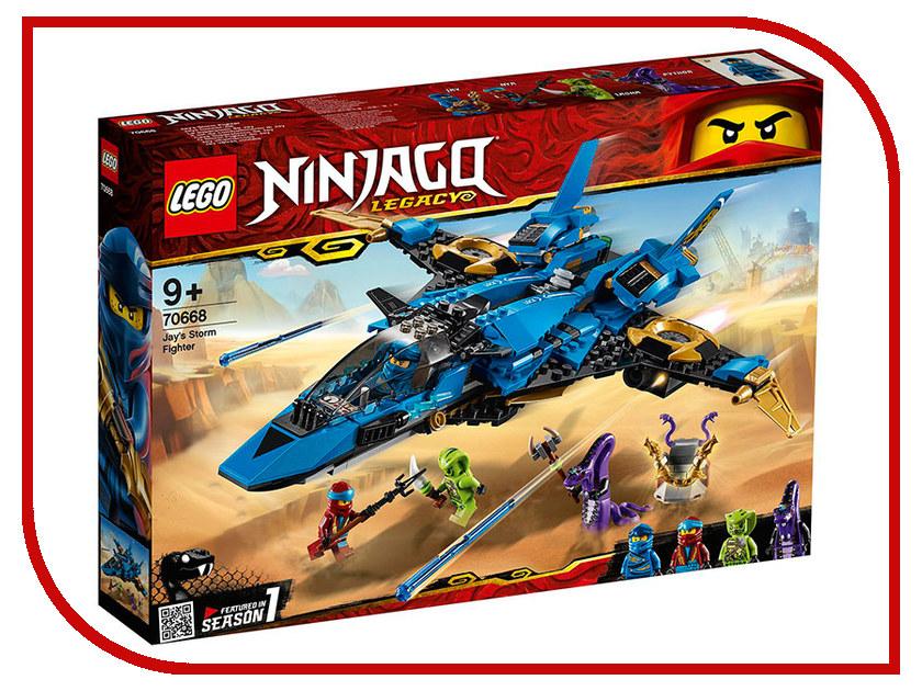 Конструктор Lego Ninjago Штормовой истребитель Джея 490 дет. 70668 конструктор lepin ninjago акула гармадона 929 дет 06067