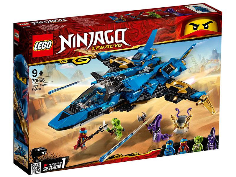 Конструктор Lego Ninjago Штормовой истребитель Джея 490 дет. 70668
