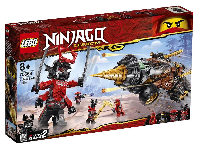 Конструктор Lego Ninjago Земляной бур Коула 587 дет. 70669 андрей земляной альвари