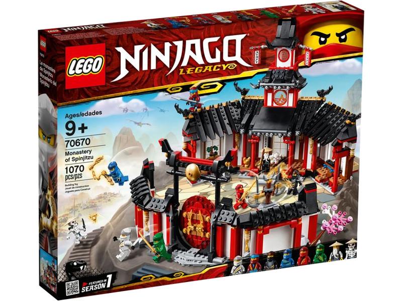 Конструктор Lego Ninjago Монастырь Кружитцу 1070 дет. 70670