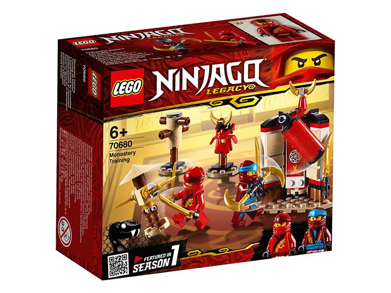 Конструктор Lego Ninjago Обучение в монастыре 122 дет. 70680