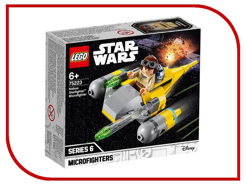 Конструктор Lego Star Wars Истребитель Набу 62 дет. 75223 lego lego star wars 75092 истребитель набу™ naboo starfighter™