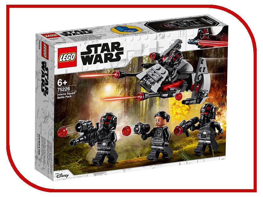 Конструктор Lego Star Wars Боевой отряд Инферно 118 дет. 75226 star wars lego конструктор lego star wars 75129 боевой корабль вуки