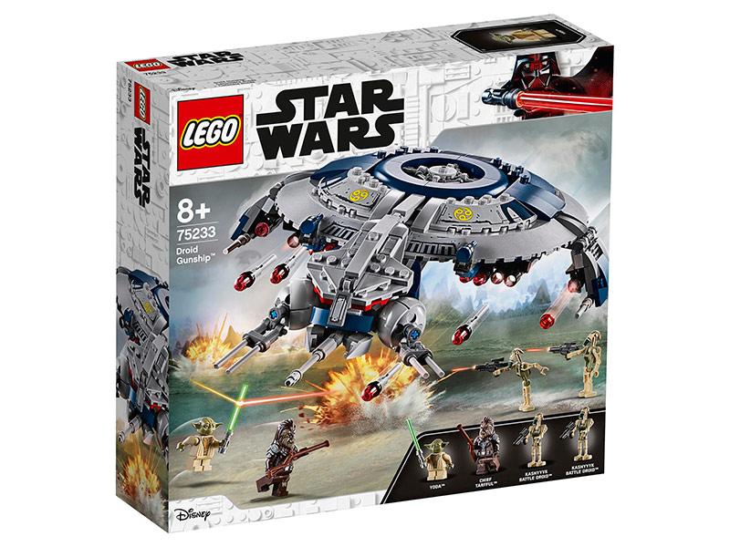 Конструктор Lego Star Wars Боевой корабль дроидов 389 дет. 75233 конструктор lego star wars 75132 боевой набор первого ордена