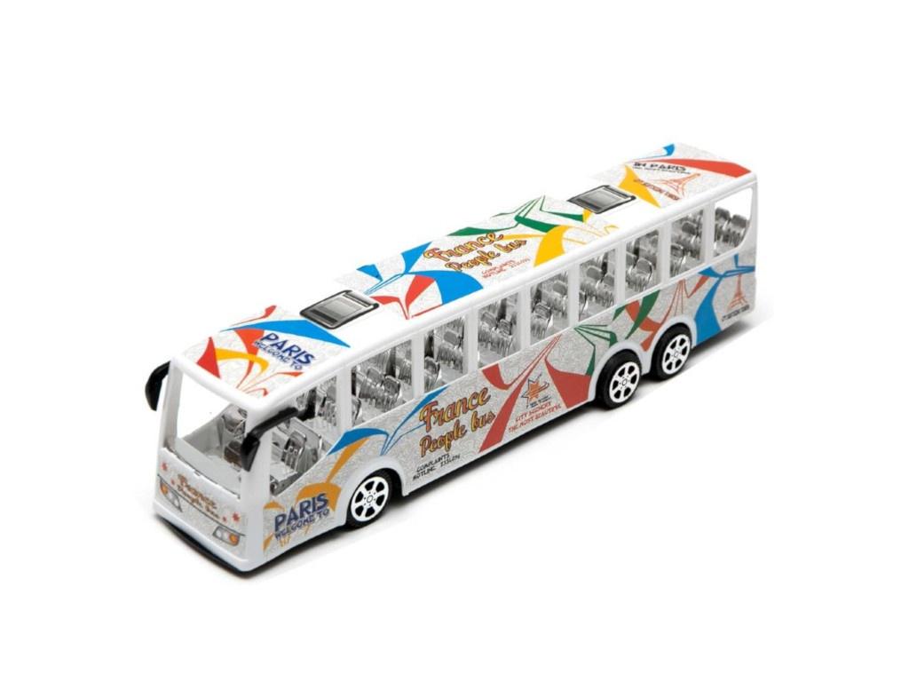Игрушка Zoomi Автобус Французский экспресс ZM294 автобус наша игрушка автобус продавца голубой w034