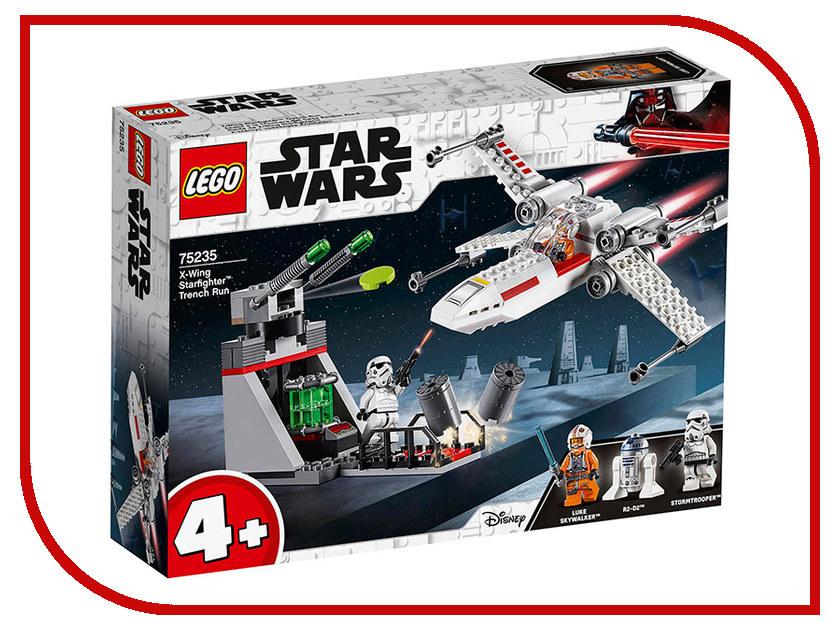 Конструктор Lego Star Wars Атака истребителя X-Wing 132 дет. 75235 prandtlplane wing structure