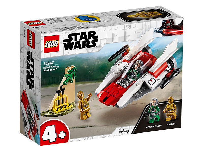 Конструктор Lego Star Wars Звёздный истребитель A-Wing 62 дет. 75247