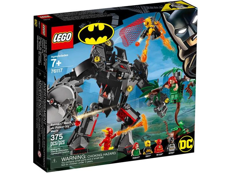 Конструктор Lego DC Super Heroes Бэтмен против Ядовитого Плюща 375 дет. 76117