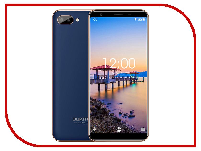 Сотовый телефон Oukitel C11 8Gb Blue сотовый телефон oukitel с8 4g gold