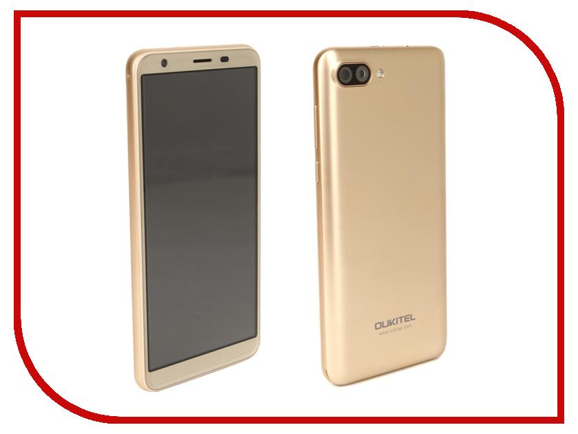 Сотовый телефон Oukitel C11 8Gb Gold сотовый телефон oukitel с8 4g gold