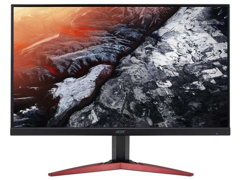 лучшая цена Монитор Acer KG271Cbmidpx Black-Red