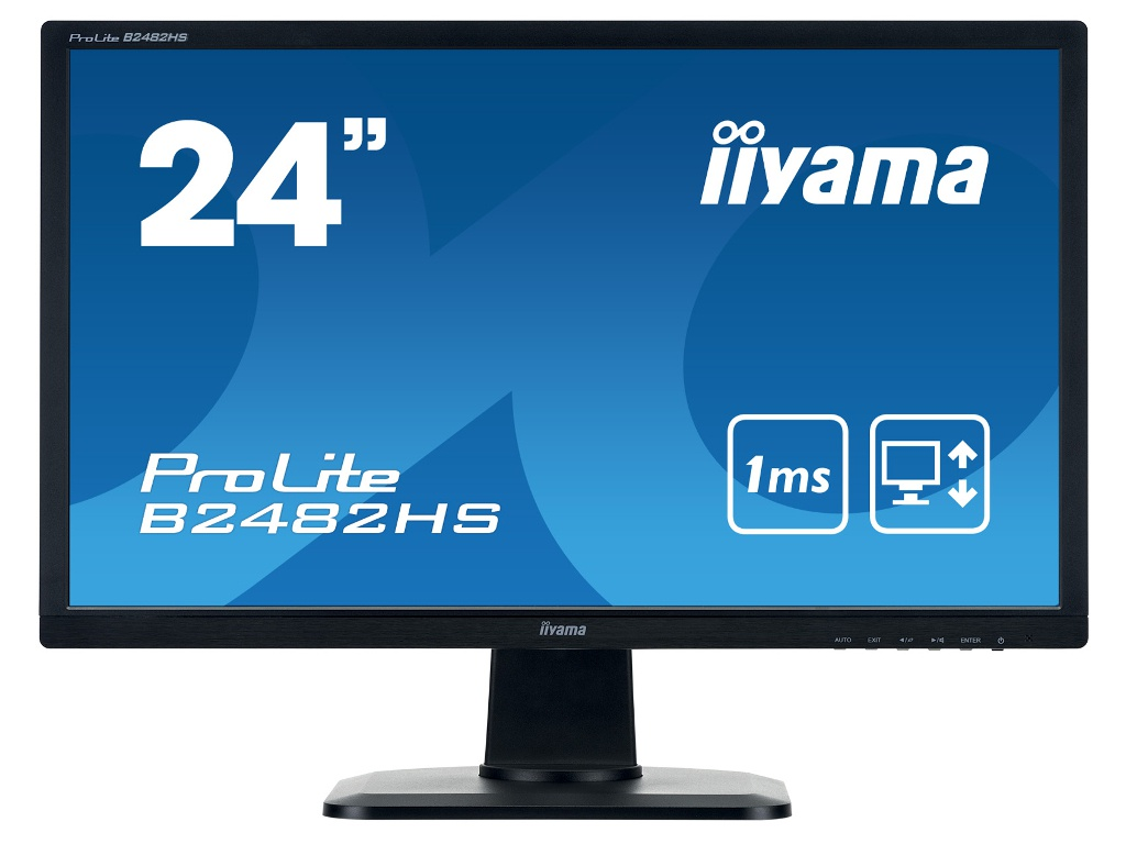Монитор Iiyama ProLite B2482HS-B1 Black цена