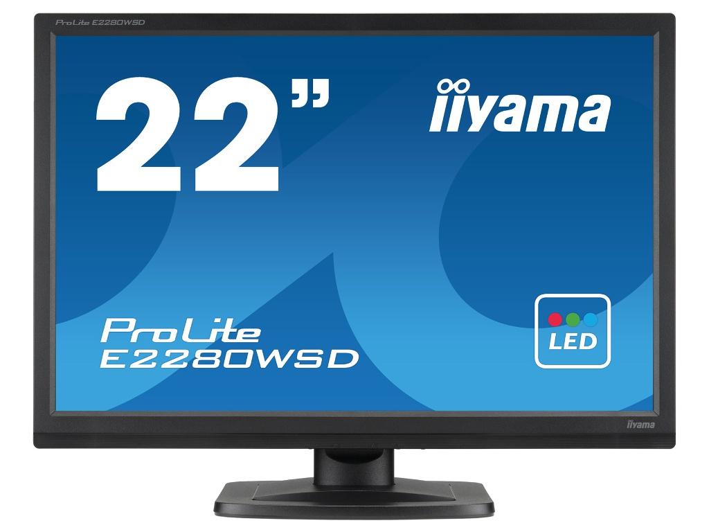 Монитор Iiyama ProLite E2280WSD-B1 Black b1