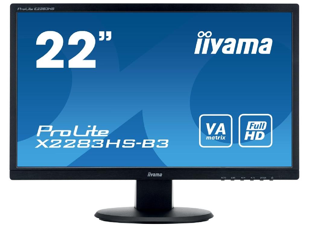 Монитор Iiyama X2283HS-B3 Black
