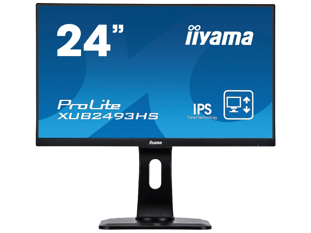 Монитор Iiyama ProLite XUB2493HS-B1 Black цена