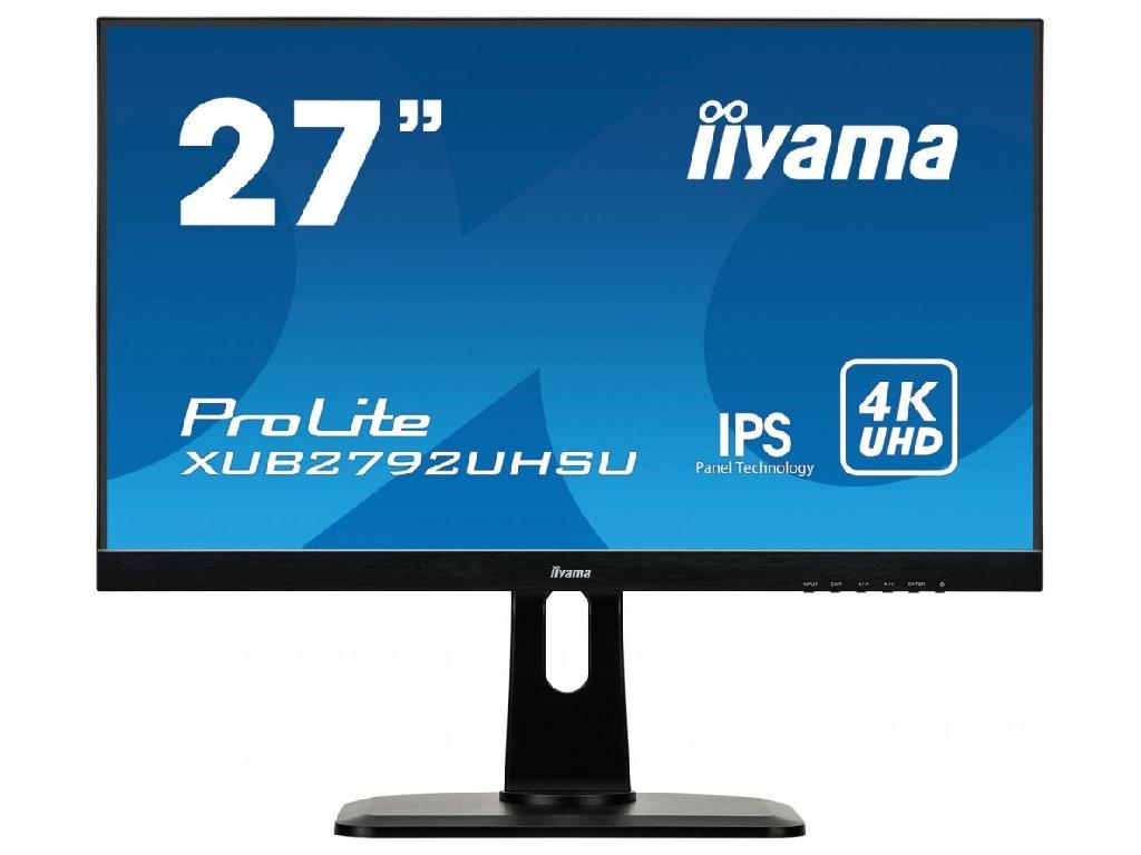Монитор Iiyama XUB2792UHSU-B1 Black монитор iiyama t1931saw b5