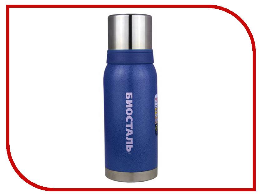 Термос Biostal NBА-1000 (B) (1л) Blue термос 1л essentials