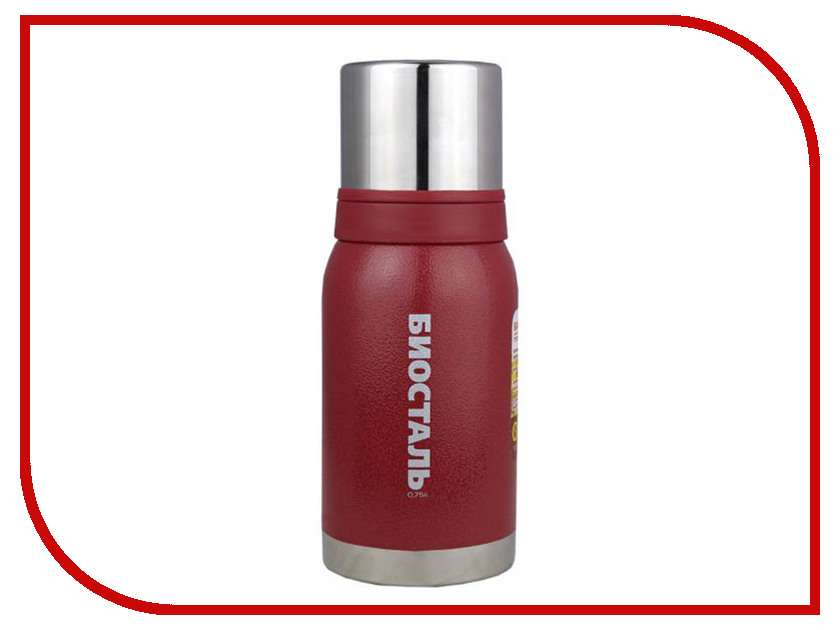 Термос Biostal 0.75L NBА-750R Red