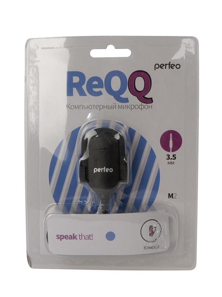 Микрофон Perfeo M-2 Black PF-A4424