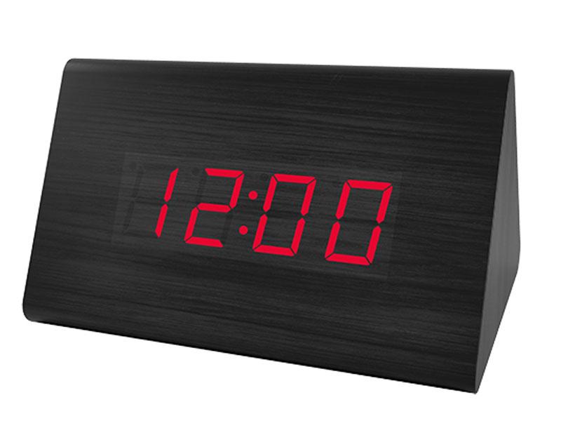 цена на Часы Perfeo Trigonal PF-S711T Black PF-A4402