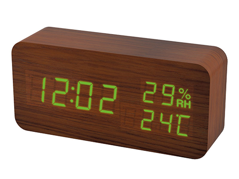 Часы Perfeo Wood PF-S736 Brown PF-A4195
