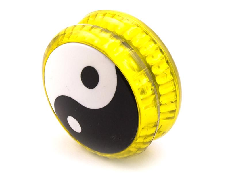 Йо-Йо Эврика Волчок на шнуре Инь Янь Yellow 99058
