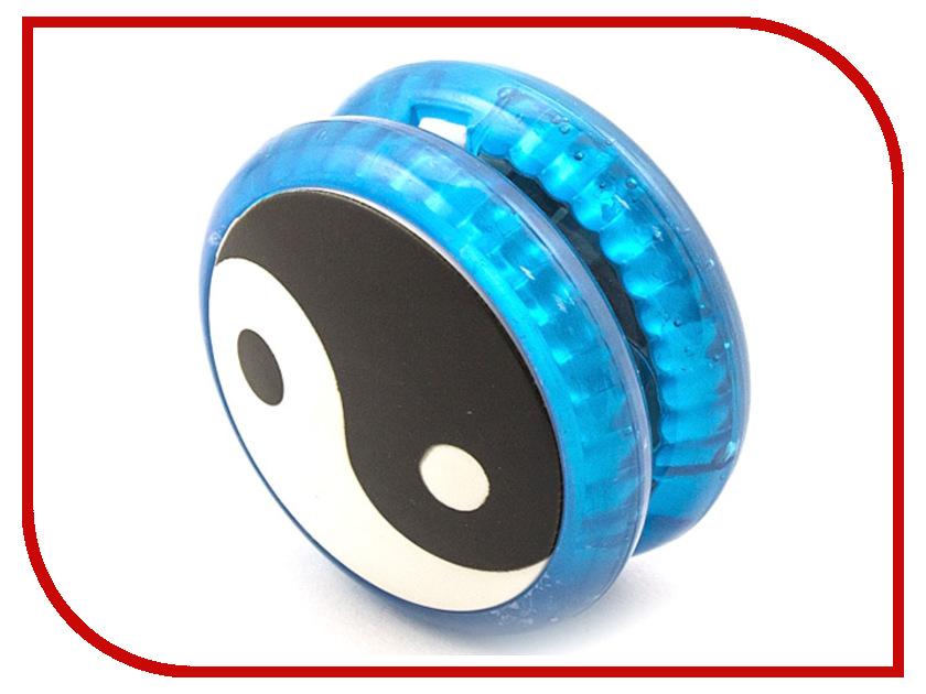 Йо-Йо Эврика Волчок на шнуре Инь Янь Blue 99057