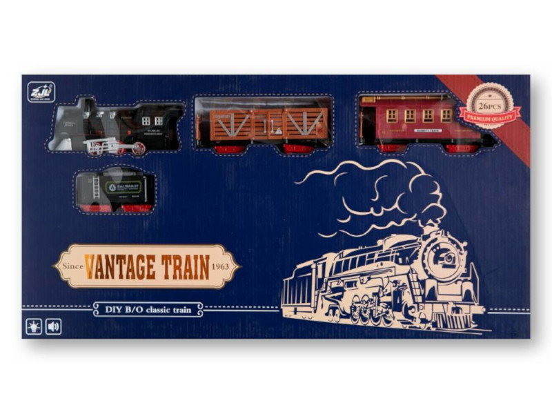 Игрушка Zoomi Классический поезд ZM266 игрушка zoomi машина 1 18 zm190