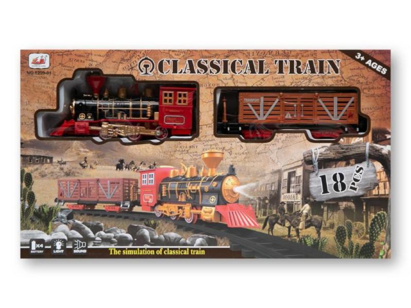 Игрушка Zoomi Классическая железная дорога ZM268 игрушка zoomi машина 1 18 zm190