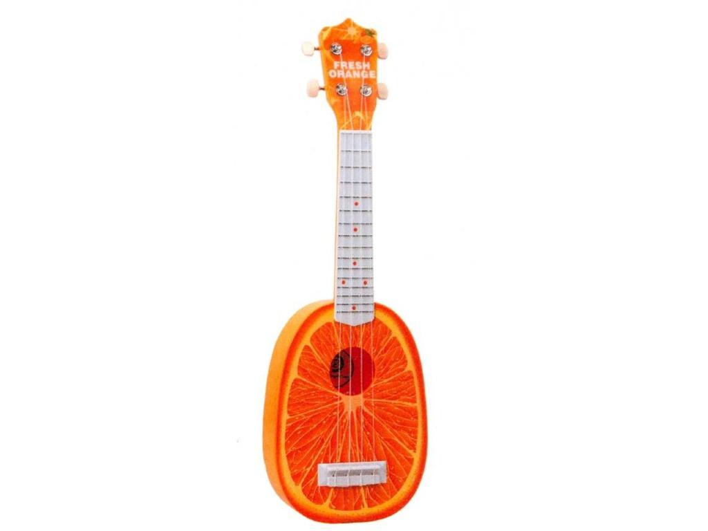 Детский музыкальный инструмент Zoomi Гитара Апельсин 57cm ZM345 b dot музыкальный инструмент b dot гитара с 2 лет