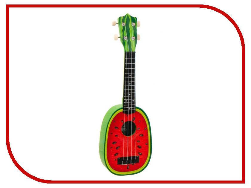 Детский музыкальный инструмент Zoomi Гитара Арбуз 57cm ZM344 b dot музыкальный инструмент b dot гитара с 2 лет