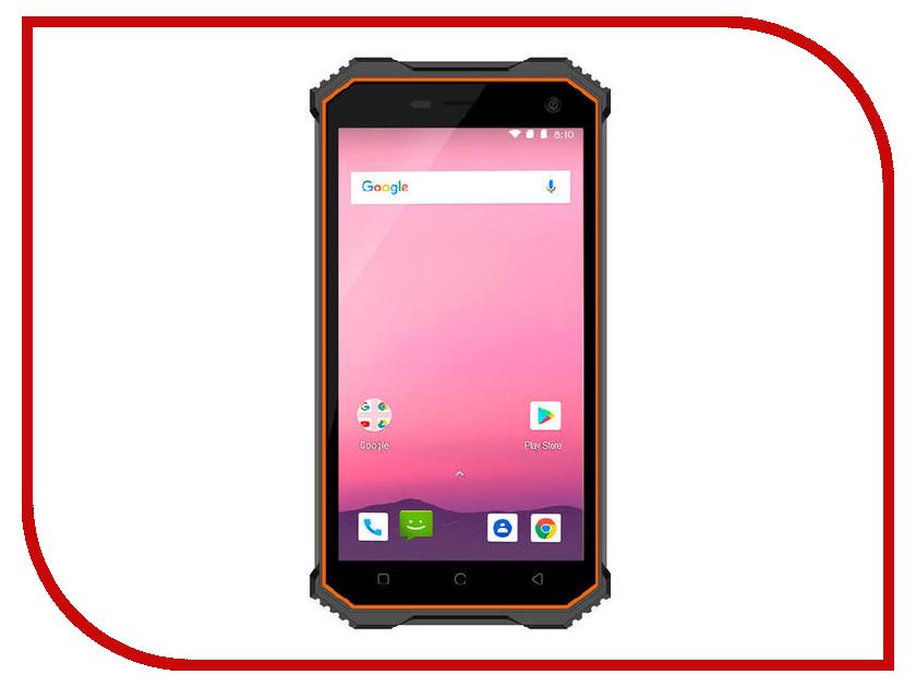 Сотовый телефон Ginzzu RS8502 Black-Orange