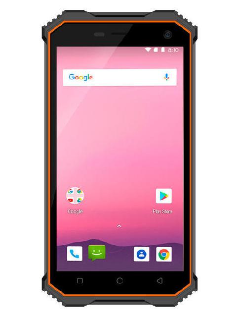 Сотовый телефон Ginzzu RS8502 Black-Orange цена