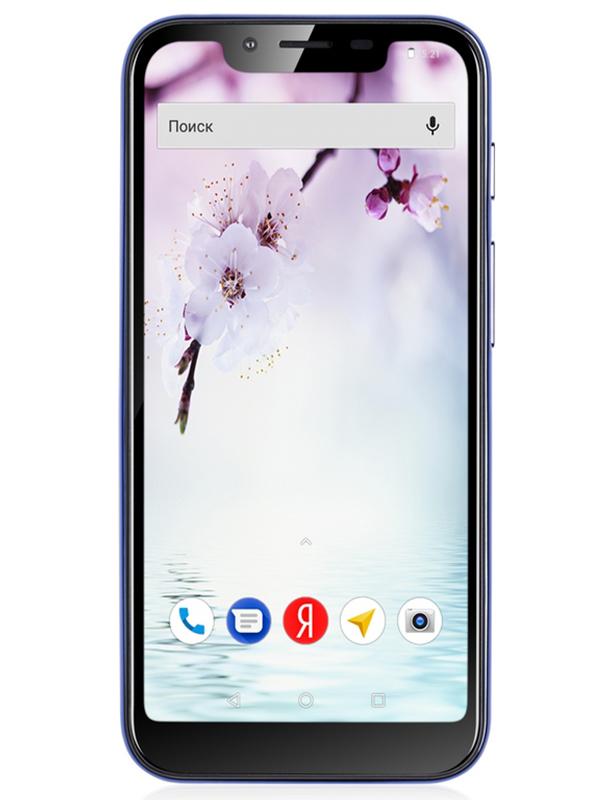 Сотовый телефон Fly View Max Blue