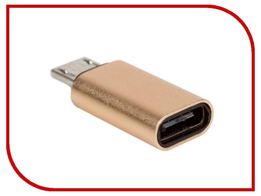 Аксессуар Blast MicroUSB - Type-C BMC-607 Gold 40081 аксессуар hoco u16a type c gold