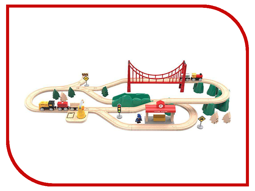 Игрушка Xiaomi Mi Toy Train Set BEV4144TY робот xiaomi mi bunny block