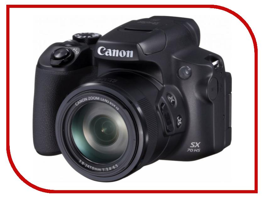 Фотоаппарат Canon PowerShot SX70 HS фотоаппарат canon powershot sx430 is 20mp 45xzoom черный 1790c002
