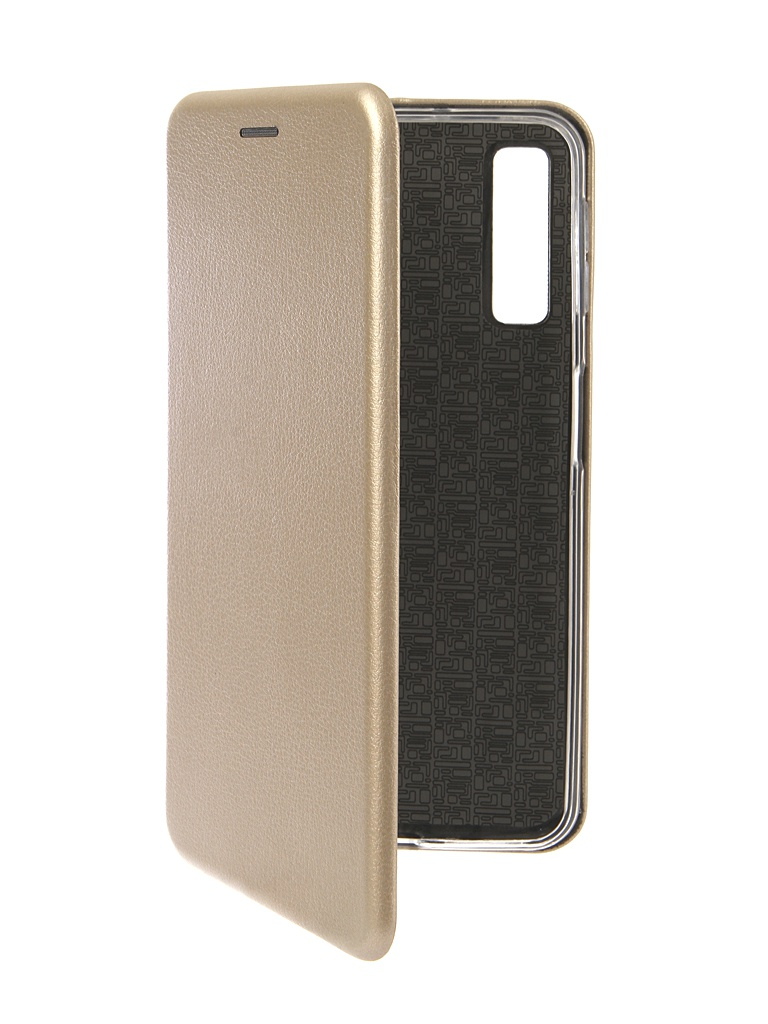 Аксессуар Чехол Innovation для Samsung Galaxy A7 2018 Book Silicone Magnetic Gold 13331 аксессуар чехол innovation для samsung galaxy a8 2018 book silicone magnetic bordo 14699