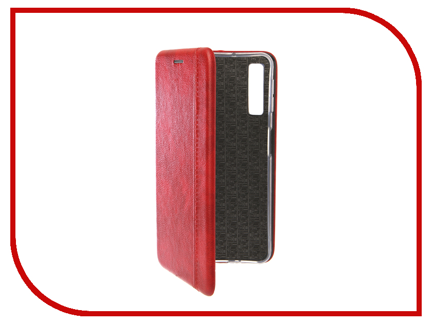 Аксессуар Чехол для Samsung Galaxy A7 2018 Innovation Book Silicone Magnetic Red 13334 аксессуар чехол для samsung galaxy j2 2018 innovation book silicone red 12175